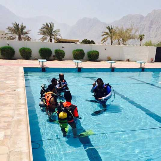 Diving course Khasab Musandam