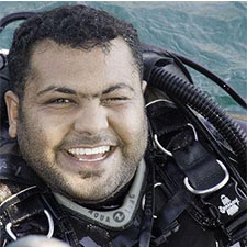Bader Al Shehi Diving Instructor Khasab Musandam